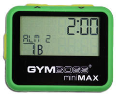 how to delete timers on gymboss
